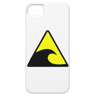 Tsunami Warning iPhone 5 Cover