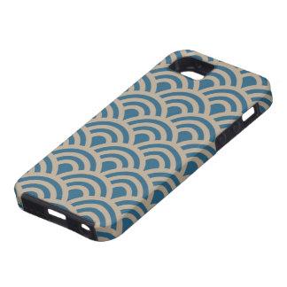 Tsunami Wave Blue iPhone Case