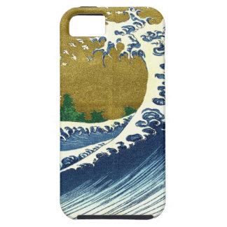 Tsunami Wave iPhone Case Tough iPhone 5 Case