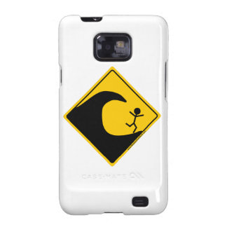 Tsunami Weather Warning Merchandise and Clothing Galaxy S2 Case