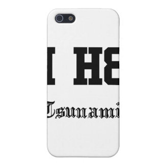 tsunamis case for iPhone 5