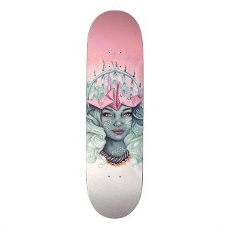 Tsuru Origami Girl Custom Skateboard