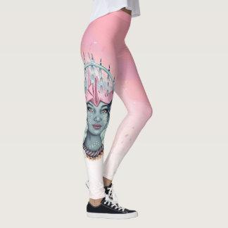Tsuru Origami Girl Leggings
