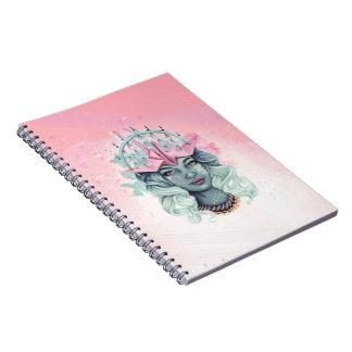Tsuru Origami Girl Notebook
