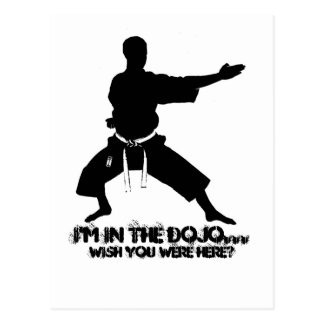 TSW I'm in the Dojo..., Wish you were here? Postcard