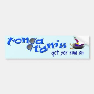 TT Bling for your Ride! Bumper Sticker