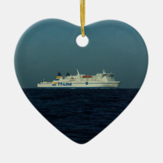 TT Line Ferry Ceramic Ornament