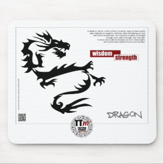TT Meanings - DRAGON Mouse Pad