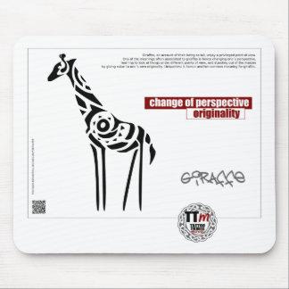 TT Meanings - GIRAFFE Mouse Pad