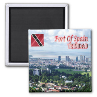 TT Trinidad and Tobago Port of Spain Queen's Park Magnet