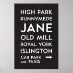 TTC - Bloor-Danforth High Park Poster