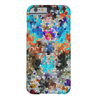 TTEQOTGCubismINV SGDRKDP BLUE Barely There iPhone 6 Case