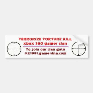 TTK bumper sticker ver 1