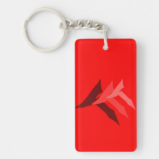 TTT RED KEY KEY RING
