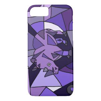 TU- Amazing Rhino Abstract Art Design iPhone 7 Case