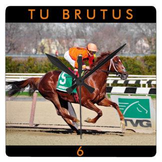 Tu Brutus- Chile Square Wall Clock