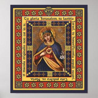 Tu gloria Jerusalem Pictura Poster