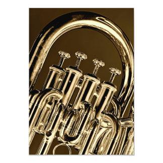 Tuba Band Musician Invitation Card