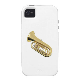 """""""Tuba"""" design Apple product cases Case-Mate iPhone 4 Cover"""