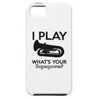 tuba designs iPhone 5 case