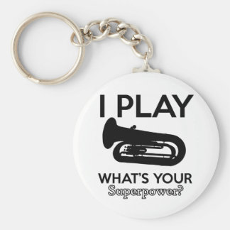 tuba designs key ring