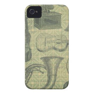 Tuba Gramophone iPhone 4 Cases