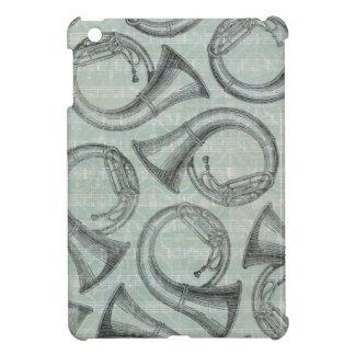 Tuba Pattern iPad Mini Cases