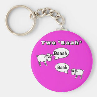 Tuba- Two baah! Key Ring