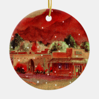 Tubac Arizona Keepsake Christmas Ornament