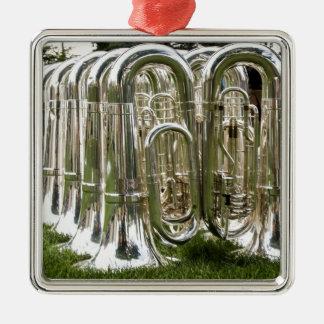 Tubas Metal Ornament