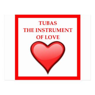 TUBAS POSTCARD