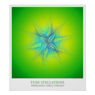 Tube Stellations Poster