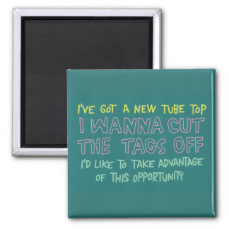tube top magnet