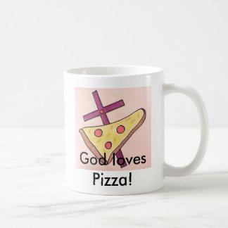 TubeDorks-Religiously Pizza-Mug. Coffee Mug