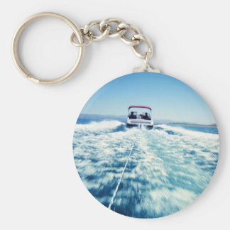 Tubing on Pyramid Lake Key Ring