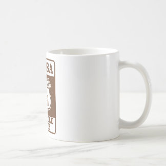 TUC Road sign mug