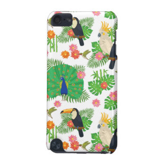 Tucan And Peacock Pattern iPod Touch 5G Covers