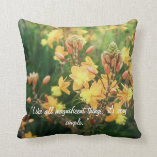Tuck Everlasting Quote Throw Pillow
