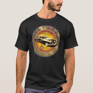 Tucker cars sales service sign T-Shirt