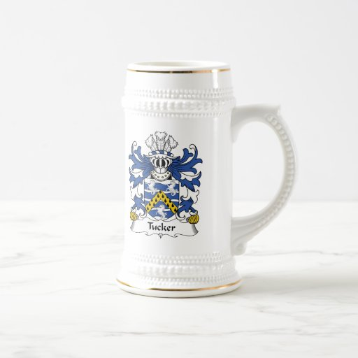 Tucker Family Crest Coffee Mugs
