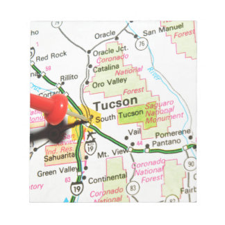Tucson, Arizona Notepad