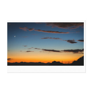 Tucson, Arizona Sunset Canvas Print