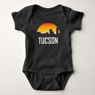 Tucson Arizona Sunset Skyline Baby Bodysuit