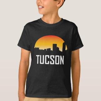 Tucson Arizona Sunset Skyline T-Shirt