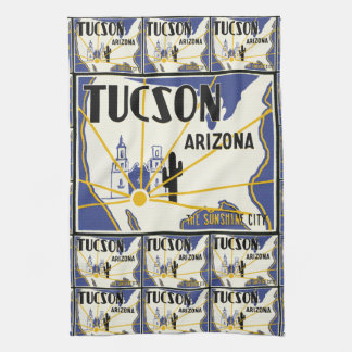 Tucson Arizona Tea Towel