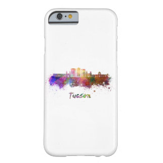 Tucson V2 skyline in watercolor Barely There iPhone 6 Case