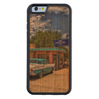 Tucumcari, NM - Rt 66 Carved Cherry iPhone 6 Bumper Case