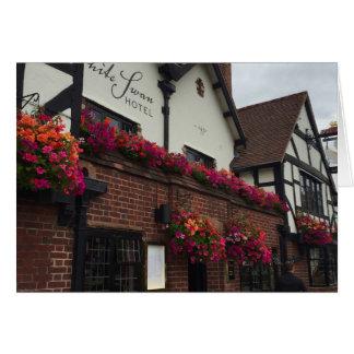 Tudor Hotel Stratford-Upon-Avon UK England Photo Card