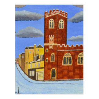 Tudor House in Exeter Postcard