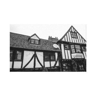 """""""Tudor pub"""" wall art"""